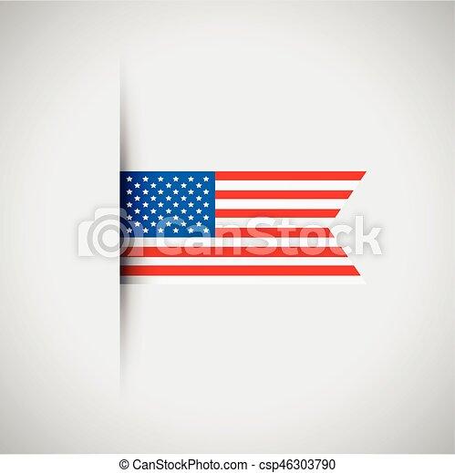 usa flag - csp46303790