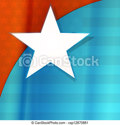 USA flag - csp12870881