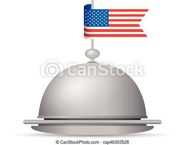 usa flag - csp46303528