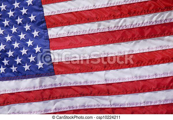 USA Flag - csp10224211