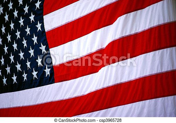 USA Flag - csp3965728