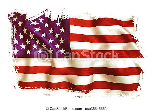 usa flag - csp36545562
