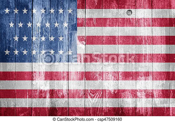 USA flag - csp47509160