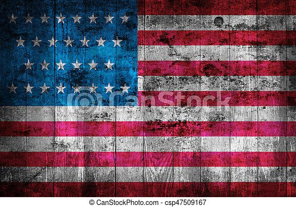 USA flag - csp47509167