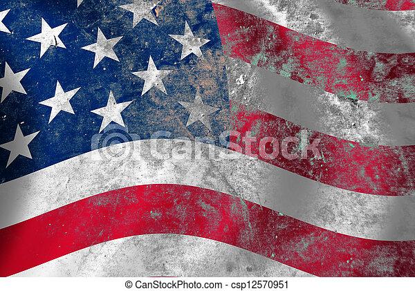 USA flag - csp12570951
