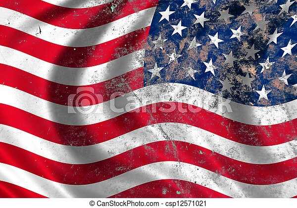 USA flag - csp12571021
