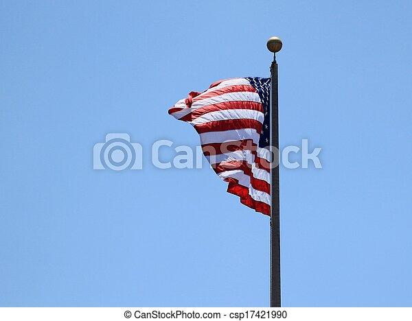 USA Flag - csp17421990