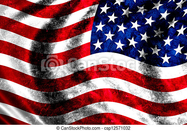 USA flag - csp12571032