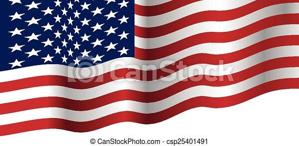 Usa Flag Waving Vector Clip Art Royalty Free 7 224 Usa Flag Waving
