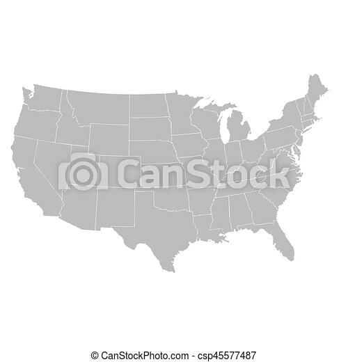 Usa map vector search clip art illustration drawings and eps usa map vector sciox Choice Image