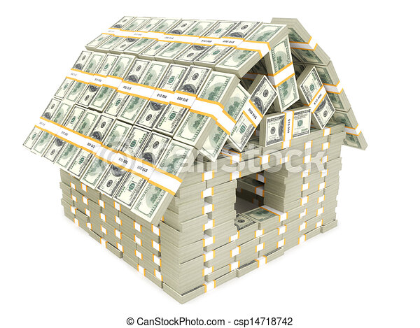 Usa Money Building Drawing Search Clip Art Illustrations