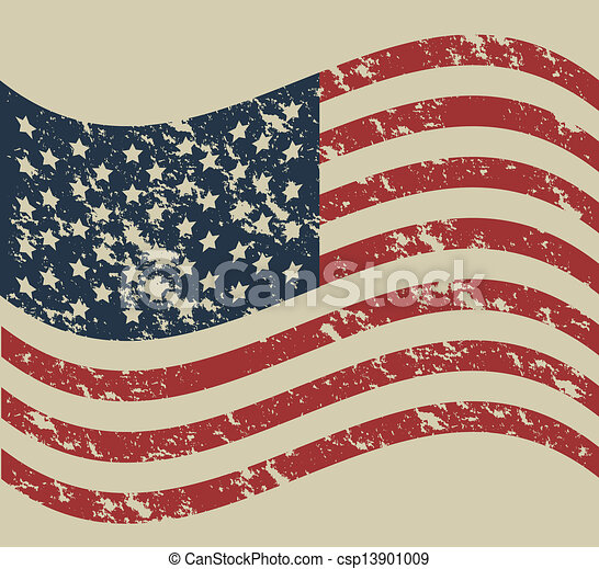 USA poster - csp13901009