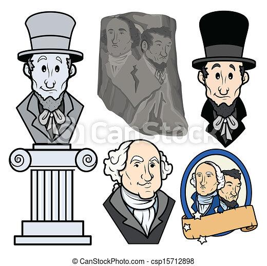 Usa Presidents Cartoon Clipart Usa Presidents George Washington