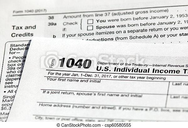 form 1040 us tax  USA tax form 12 for US individual tax return.