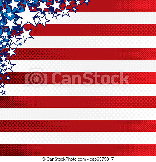 USA Theme - csp6575817