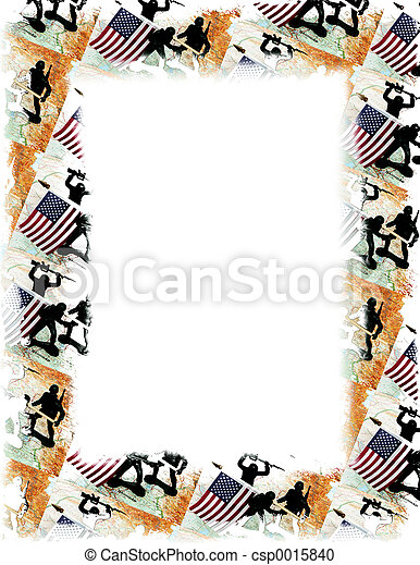 USA/Iraq Frame - csp0015840