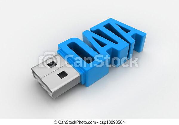 usb flash drive - csp18293564