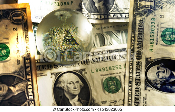 Usd Dollar Bill Eye Pyramid Mason Eye Of Providence All Seeing Eye