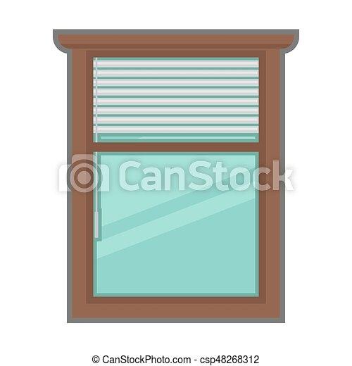 Wohnung use fenster vektor design au en inneneinrichtung style - Fenster style ...