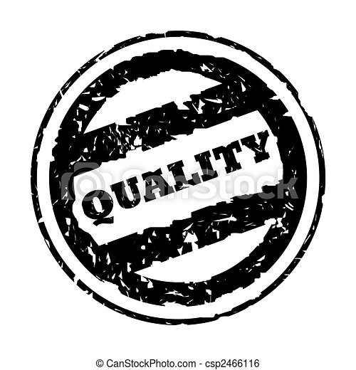 Used Black Quality Stamp Used Black Quality Business Stamp
