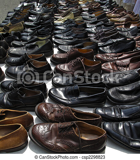 Used mens shoes - csp2298823