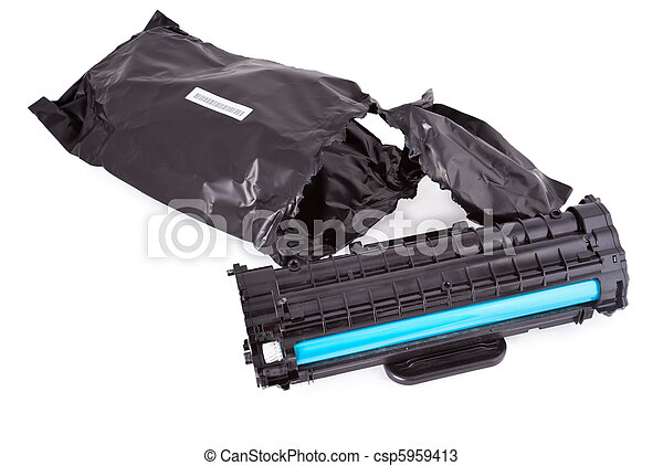 Used toner laser cartridge - csp5959413