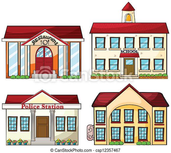 Useful buildings - csp12357467
