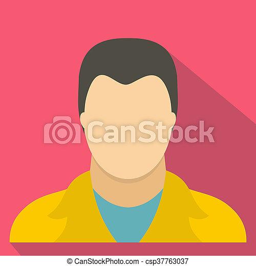 User icon, flat style - csp37763037