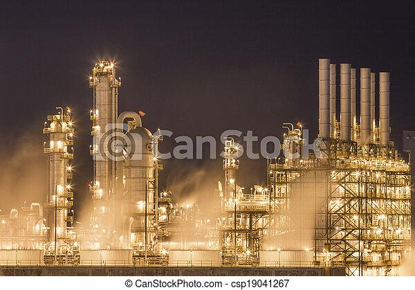 usine eau, chimique, tour de refroidissement, vapeur - csp19041267