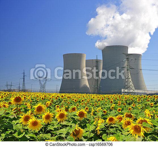 usine nucléaire, puissance - csp16569706