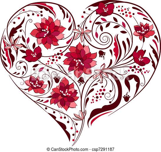 Usines forme coeur noir fleurs blanches - Fleur au coeur noir ...