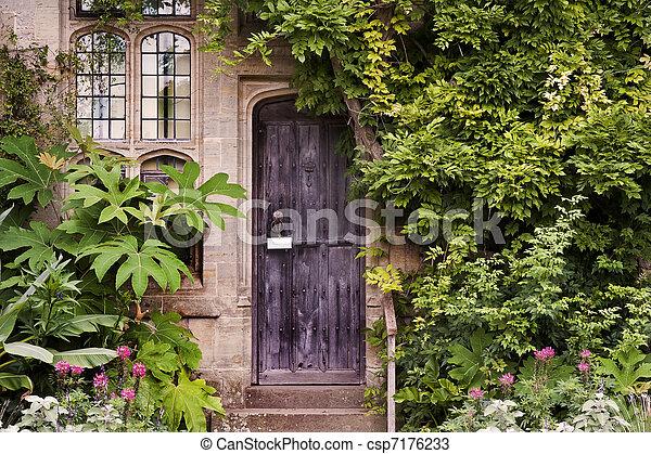Usines Pierre Porte Maison Bois Entr E Ou Vieux