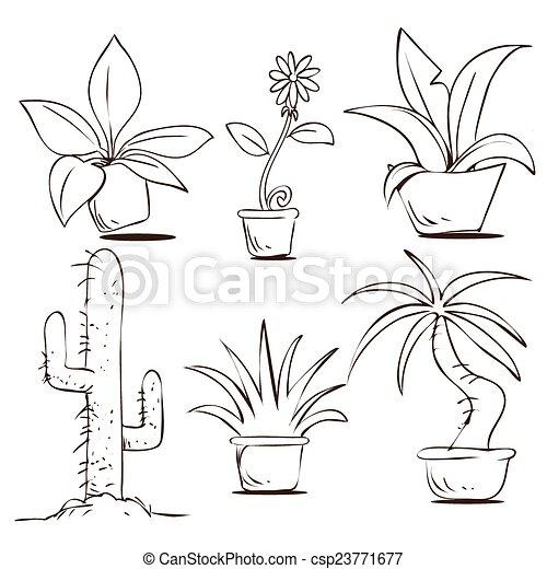 usines, pots - csp23771677