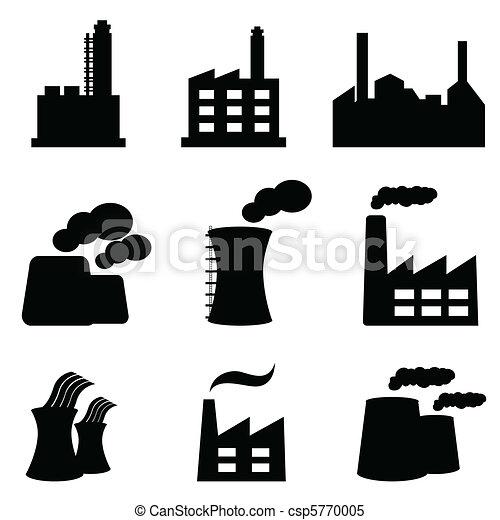 usines, usines, puissance - csp5770005
