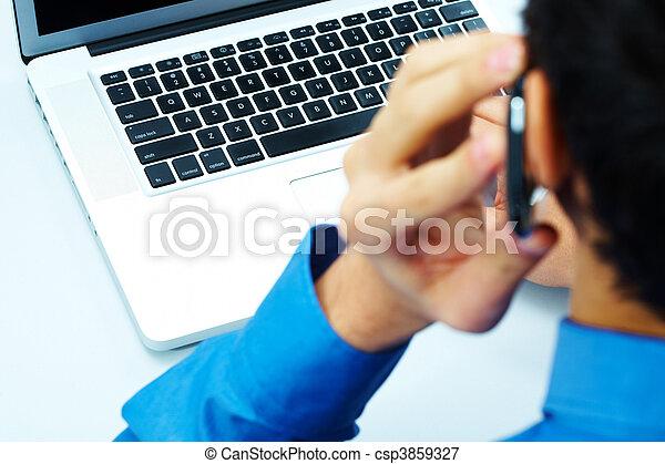 Using telecommunications - csp3859327
