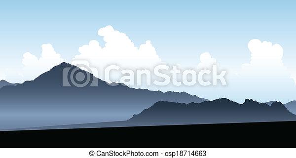 Uspallata Valley - csp18714663