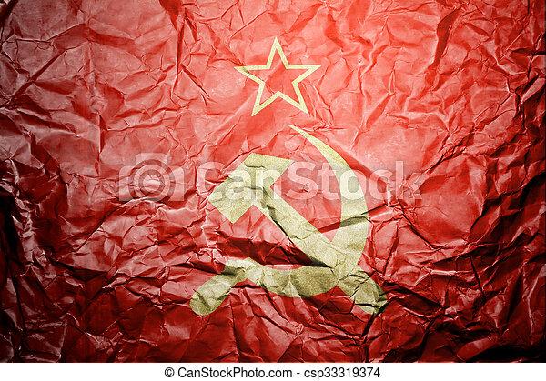 USSR flag - csp33319374