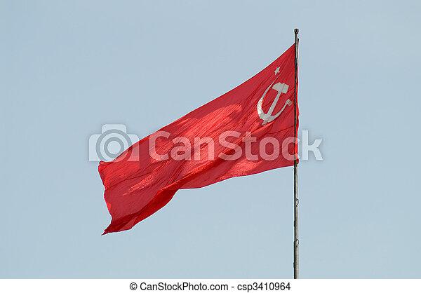 ussr flag - csp3410964
