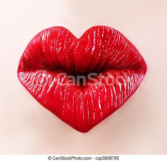 usteczka, święty, valentine - csp3608785