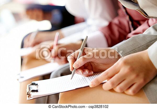 utbildning, affär - csp3828102