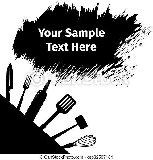 Utensilios publicidad tarjeta cocina publicidad for Utensilios de cocina logo