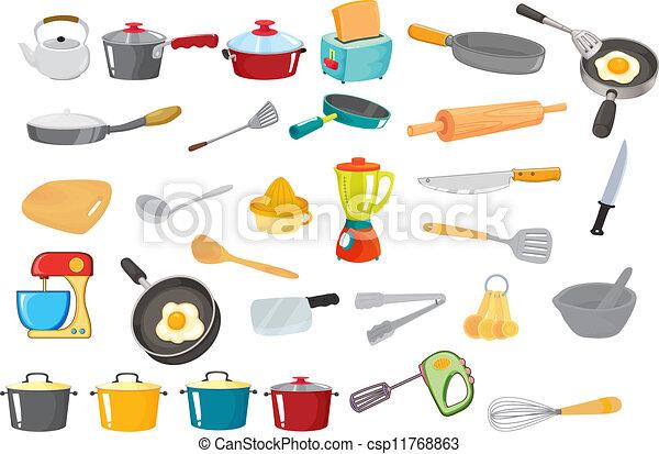Varios utensilios - csp11768863