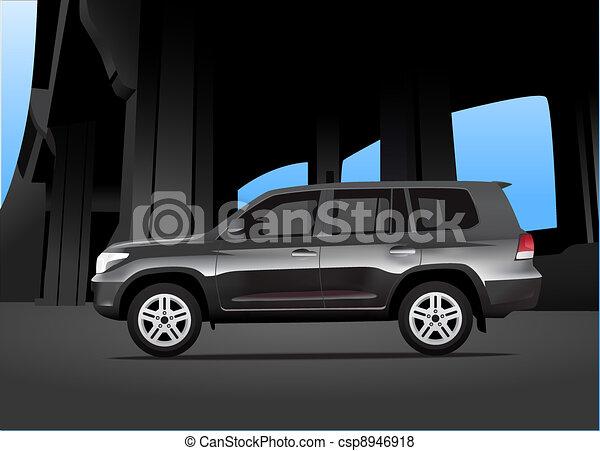 utilità, automobile, sport, veicolo - csp8946918
