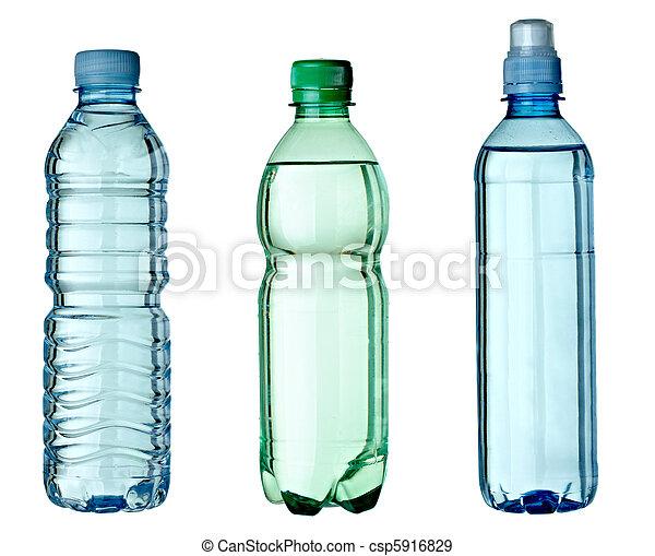 Medio ambiente ecológico de botella vacía - csp5916829