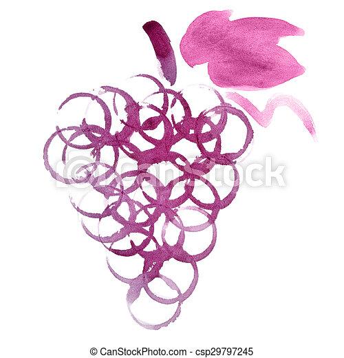 uvas, grupo - csp29797245