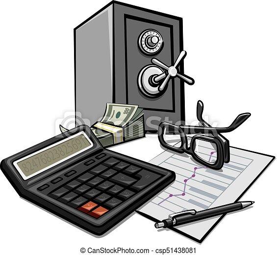 uważając, finanse, handlowy - csp51438081