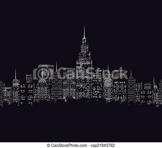 város - csp21843762