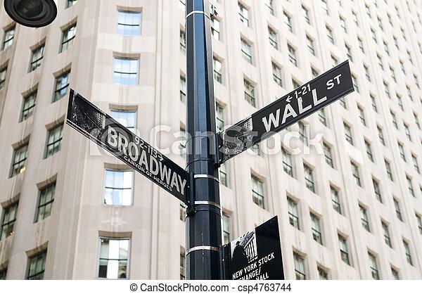város, cserél, fal, sep, -, york, utca, 4, új, 2010, részvény - csp4763744