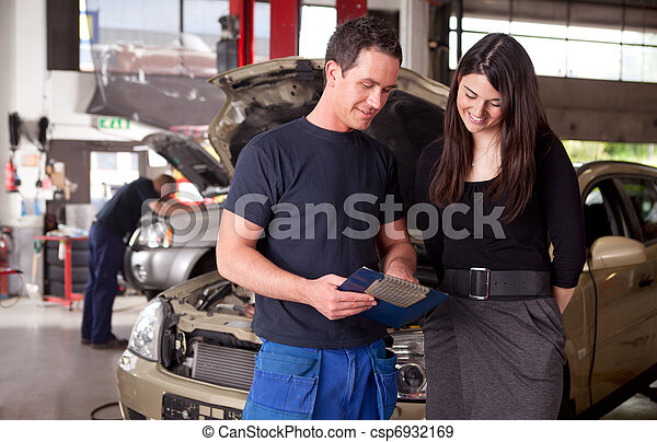 vásárló, fejteget, szerelő, szolgáltatás, parancs - csp6932169