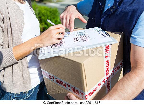 vásárló, jegyzet, cégtábla, felszabadítás, részletek - csp22011616
